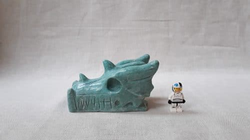 dragon amazonite 840 grammes